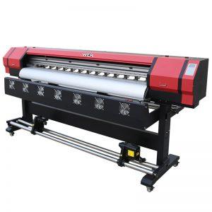 1.8m eco solventa cifereca printilo duobla printilo kapo DX5 WER-ES1901