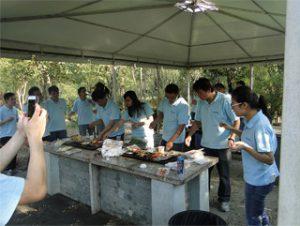 BBQ en Gucun Parko, Aŭtuno 2014