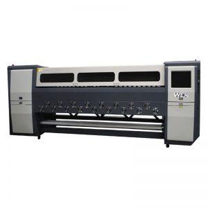 Bona kvalito K3404I / K3408I Solvent Printer 3.4m-peza imposto inkjet-impresilo