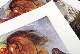 Oleo Canvas presita de 2.5m (8 futoj) eco solventa presilo WER-ES2501