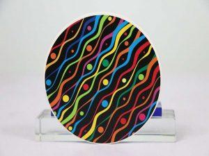 Unu-haltita ceramika kahelo-solvo
