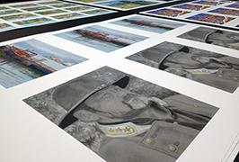 Foto Papero presita de 1.8m (6 futoj) eco solventa presilo WER-ES1802 2