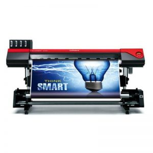 RF640A Alta kvalito 2000x3000mm plej granda formato inkjet-presilo