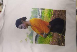 Ĉemizoj presa specimeno por Birma kliento de WER-EP6090T-presilo