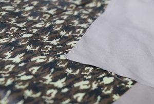 Tekstila presa specimeno 1 per cifereca tekstila presa maŝino WER-EP7880T