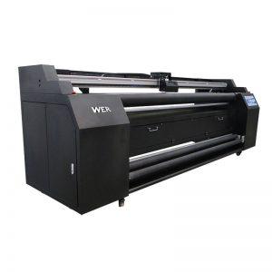 WER-E1802T 1.8m rekta al tekstila presilo kun 2 * DX5 sublimation-presilo