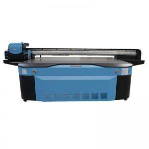 plena koloro CMYK LCLM blanka valzuro UV ebenita printilo 3D WER-G2513UV