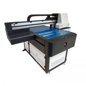 printilo de ebena litkovrilo UV de alta rapido kun la grandeco de impresa WL-ED6090UV